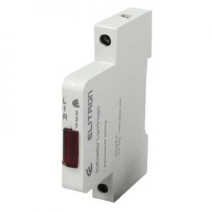 INDICADOR LED 1 Módulo 9mm Riel DIN